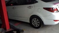 看灰机排气改装--电动遥控阀门加鼓-现代瑞纳1.4
