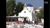 爱琴海的代表 : 希腊 米克诺斯岛蓝白风光