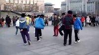 【原创】TSK舞圣诞节西单广场集训现场 鬼步舞 曳步舞