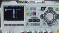 使用RIGOL DP831A的录制器功能记录负载供电情况