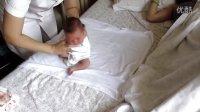 刚出生婴儿做操