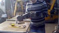 角磨机 不锈钢管材 打磨抛光