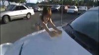【藤缠楼】鼻血四溅!比基尼美女洗车