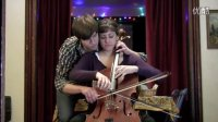 温馨与充满创意的2人4手1提琴之演奏 - 马其顿情歌 Jovano, Jovanke