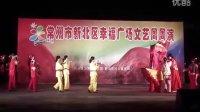 民俗表演 过河 常州市飞影艺术团 新北区幸福广场周周演