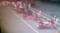 杭州萧山瓜沥镇——小偷偷自行车全过程