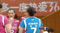 2013年11月30日中国女排联赛第1轮 北京VS山东 第一局