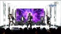100117 SBS人气歌谣 2PM - 等到疲惫 + Heartbeat (Goodbye Stage)