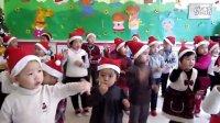 超萌幼儿园宝宝集体跳圣诞舞蹈  豆豆班芽芽班圣诞节视频