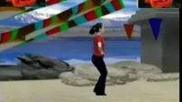 广场舞教学藏族—踢踏7—四步合练