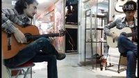 新疆朋友的吉他弹奏