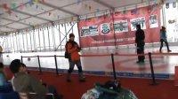 第三届鸟巢欢乐冰雪季用天奥冰壶球练习投壶