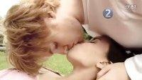 情侣真人示范 最有创意的接吻方式