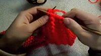猫猫の编织教程 第四节  鱼骨针的织法