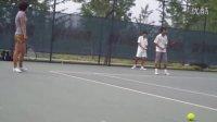 超达网球学校优秀运动员北体强化网球训练