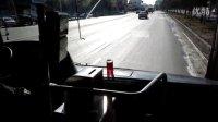 (6)行车10.3公里,慢点2分钟,吉林公交郑老师展示挑战一杯水的最高境界!