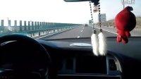 陕西神木高速上奥迪A6L2.0T狂飙奔驰S65