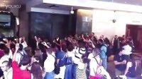 巴萨美国行:巴萨球迷盛大欢迎