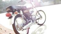 嘉陵70JH70改110cc装车测试(不含电器设备) -3