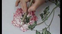 9刘晓军中国工笔花鸟画技法临摹《牡丹图》第四步整理完成 2