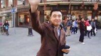 滨江道 cosplay 行为艺术 活动 抽奖 微博上墙 传媒 大铜钱 光棍节