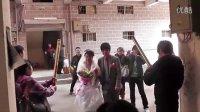 巫山县 男:柴先旺  女:李海芳 婚车巡游--结婚典礼
