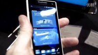 Sony Xperia S Android smartphone live from CES 201