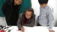 霍春阳传授传统芙蓉画法