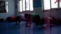 中国武术_朴真拳功力训练法之一铁三角