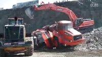 挖掘机装载机救援侧翻自卸车