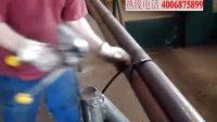 FROMM A431手动铁扣钢带打包机的操作演示说明