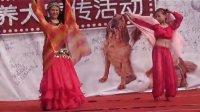 书城宣传日——华华与古培即兴双人纱巾舞