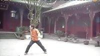 中国武术:唐祖强在训练中02(四川省龙道国术馆)