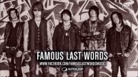 高清地塚雜志 Famous Last Words 2012全新专辑Comin' In Hot