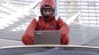 Lenovo联想广告 坐在出租车顶上视频聊天