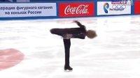 2014 Russian Nationals SP  Zhan Bush