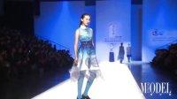 【模特中国】撷蓝唱晚印花蓝系列服装发布会