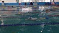 20131229 - 汤汤的蝶泳录像,旁边一道是鬼魅的火哥