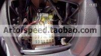 视连科WF1 WIFI行车记录仪 取电安装