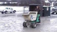 立乘式轮式混凝土搬运车