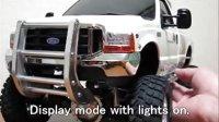 TAMIYA FORD F-350 HIGH-LIFT带声光套件 遥控器控制技巧 -RCNOW