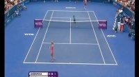2014 WTA 布里斯班公开赛 QF 莎拉波娃vs卡内皮 HL