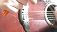 03 吉他琴弦的安装步骤 避免断弦的方法和卷弦器工具的使用方法