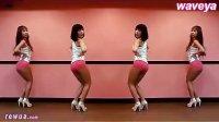 粉红齐臀热裤动性感热舞