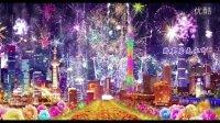 CP050 中国美晚会演出舞台LED背景视频 喜庆烟花灯笼富贵牡丹城市