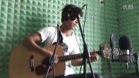 视频-《一个人唱情歌》翻唱-阿龙-爱琴海吉他录音室录制