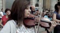 【藤缠楼】西班牙萨瓦德尔街头古典音乐快闪-欢乐颂