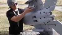 蓝翔 大F-22 双70mm涵道遥控飞机 上海莱德模型