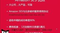 Amazon SES邮件群发系统介绍