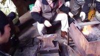 与板学生鍛冶屋体験 2011年12月